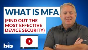 Multifactor Authentication MFA
